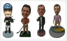 Groupon - $55 for a Custom Bobblehead Package from AllBobbleheads.com with Shipping Included ($130 Total Value) in Online Deal. Groupon deal price: $55.00