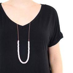 "fc0b50a2224 Emma Jane Designs™ (@shopejd) on Instagram: ""The Long Beaded Necklace"