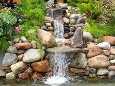 preciso de pedras de rio...
