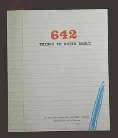 Biblioteca nerd: 642 Things to Write About | Nerdivinas