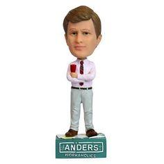 Workaholics Anders Holm Bobblehead