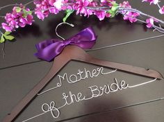 Two line hanger, Custom Bridal Hangers,Bridesmaids gift ideas,Wedding hangers with names,Custom made hangers