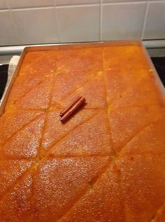 Greek Sweets, Greek Desserts, Arabic Sweets, Greek Recipes, Sweets Recipes, Cake Recipes, Cooking Recipes, How To Make Cake, Deserts