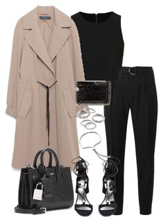"""Untitled #3588"" by theeuropeancloset on Polyvore featuring IRO, Topshop, Zara, Yves Saint Laurent, Stuart Weitzman, Monica Vinader, Apt. 9 and STELLA McCARTNEY"
