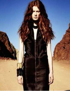 Lonesome Desert Editorials - The Elle Germany June 2012 Hetmann Photoshoot is Desolate (GALLERY)