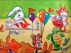 The Tortoise and The Hare Fairy Tale Bedtime Story video on You Tube