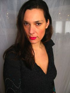 Laetitia Sadier. It seems like she doesn't take that many close-ups, so it's something of a surprise to find this one.