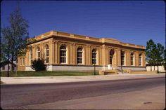 OKMULGEE PUBLIC LIBRARY in Okmulgee County, Oklahoma.