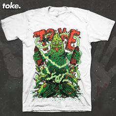 Image of Toke - HalloWEED - BUDzilla - Tee
