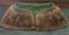Quality Vintage Fur Shoulder Cape 1950's Adorable by LeftoverStuff, $70.00