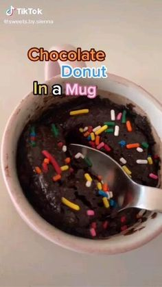 Fun Baking Recipes, Sweet Recipes, Mug Recipes, Cake Recipes, Healthy Recipes, Easy Snacks, Easy Desserts, Delicious Desserts, Yummy Food