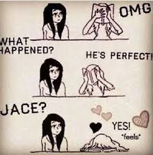 Jace wayland So me reading Mortal Instruments lol Shadowhunters Clary And Jace, Clary Y Jace, Mortal Instruments Books, Shadowhunters The Mortal Instruments, Jace Wayland, Jonathan Rhys Myers, Shadow Hunters Cast, Fangirl, Cassandra Clare Books