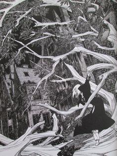 Tirage de tête, Rork 0, Andréas Sound & Vision, Black And White, Comics, Drawings, Illustration, Prints, Photography, Painting, Art