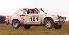 Ford - David Stokes. Winner of 2007 MSA British Historic Rally Championship