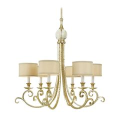 AF Lighting Lucy Chandelier | 7901-6H | Destination Lighting