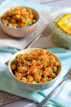 Home - Kifőztük Kaja, Mediterranean Diet, Salad Recipes, Hummus, Curry, Food And Drink, Ethnic Recipes, Ideas, Salads