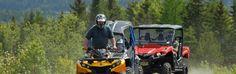 ATV Rentals at Lopstick Lodge, Pittsburg, NH