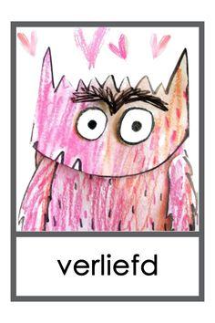 Woordkaarten: Thema Het Kleurenmonster