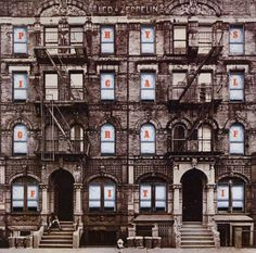 Purchase this Led Zeppelin Physical Graffiti record album from Planet Earth Records. A great collectable Led Zeppelin album is available to buy via mail order from our record store. Greatest Album Covers, Rock Album Covers, Classic Album Covers, Music Album Covers, Music Albums, Pop Albums, Led Zeppelin Kashmir, Led Zeppelin Album Covers, Led Zeppelin Albums