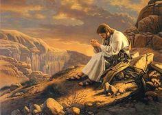 Jesús es llevado al desierto por el Espíritu Santo y allí es tentado por el diablo...:(