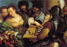The Chess Player Painting | Fotos de The Chess Players / Imagenes de The Chess Players - Galeria ...