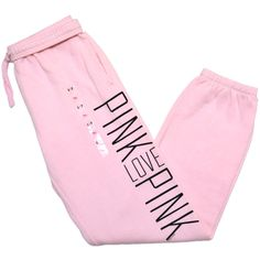 Victoria's Secret Pink S... i want these. There probably ridiculously expensive hough for some sweat pants!