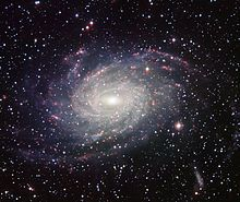 Milky Way - A photograph of galaxy NGC 6744, which might resemble the Milky Way
