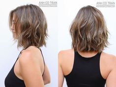 Visit for more Frisur halblang The post Frisur halblang appeared first on frisuren. Medium Hair Styles, Curly Hair Styles, Short Wavy Hair, Thick Hair, Hairstyles Haircuts, Choppy Bob Hairstyles Messy Lob, Hairdos, Pretty Hairstyles, Straight Hairstyles