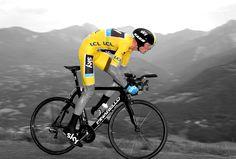 Tour de France 2013. CLM Embrun-Chorges. Chris Froome sur la route des Puys. #myhautesalpes #tourismepaca