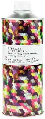 Library of Flowers Bubble Bath, The Forest - Free Shipping