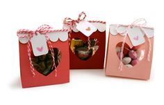 Heart Treat Bags  by Pebbles in my Pocket