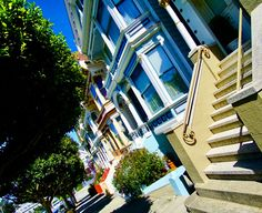 San Francisco, Painted ladies