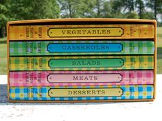 Complete Vintage Cookbook Set  Favorite Recipes...I found this set about 10 years ago at half price book store in Dallas ....and just love it!