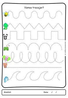 Alphabet Tracing Worksheets, Alphabet Activities, Preschool Activities, Cursive Small Letters, Preschool Fine Motor Skills, Small Alphabets, Tracing Sheets, Form Drawing, Activity Board