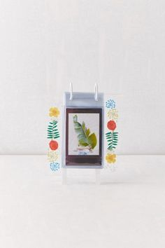 Instax Mini Cube Picture Frame | Urban Outfitters Anniversary Boyfriend, Hanging Banner, Mini Photo, Overlays, Picture Frames, Urban Outfitters, Floral Prints, Album, Wood Glass