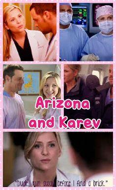Arizona and Alex collage