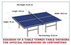 Table Tennis, also known as Ping Pong, is a sport where two players hit a lightweight, hollow ball back and forth with paddles. It originated from England in the Victorian era and was made an Olympic sport in Ping Pong Table Diy, Outdoor Ping Pong Table, Diy Table, Outdoor Tables, Pool Tables, Picnic Tables, Outdoor Fun, Outdoor Dining, Crafts