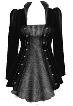 Blueberry Hill Fashions : Steampunk Layered Top