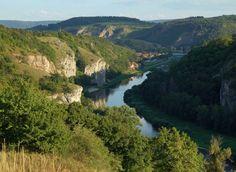 Bohemian Karst - the valley of Berounka river (Central Bohemia), Czechia