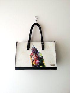 london tote bag handbag purse fog black leather nwt new my flat shopper shoulder large  pink canvas brown ostrich