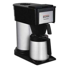 United Bunn Dual Soft Heat Thermofresh Double Coffee Maker With Water Hook Up