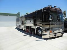 1997 PREVOST VOGUE COACH LUXURY MOTORHOME BUS RV CAMPER LOW MILES