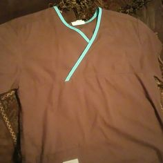 Brown Urbane scrub top Brown Urbane scrub top Urbane  Other