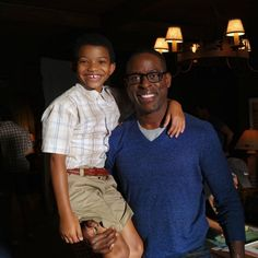 """Brown posing next to Chavis is equally precious. 