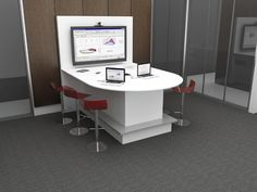 Nevers - Interconnect tables are techonology rich, stand alone environments specifically designed to support small to large group video collaboration.