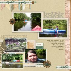 Ideas for scrapbooking nature travel and outings | GetItScrapped.com/blog - Debbie Hodge