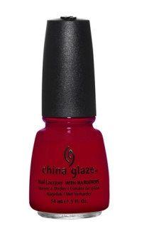 """""""Adventure Red-y"""" de China Glaze"""