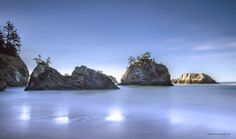 """Image is entitleds """"Quiet Thunder"""" and was taken just south of Gold Beach, OR in Samuel Boardman State Park"""