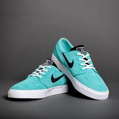 Nike SB Zoom Stefan Janoski Retro, Black, & White Skate Shoes