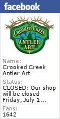 Antler Chandeliers, Lighting, Decor - Crooked Creek Antler Art